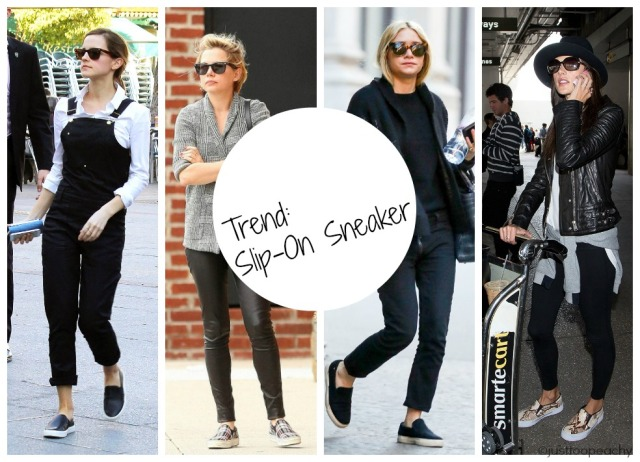 trend slip-on sneaker